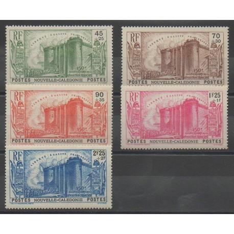 Nouvelle-Calédonie - 1939 - No 175/179
