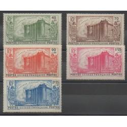 Guinea - 1939 - Nb 153/157