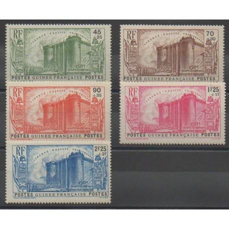 Guinée - 1939 - No 153/157