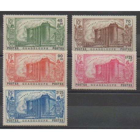 Guadeloupe - 1939 - No 142/146