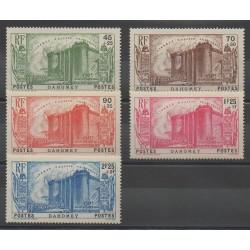 Dahomey - 1939 - Nb 115/119 - Mint hinged