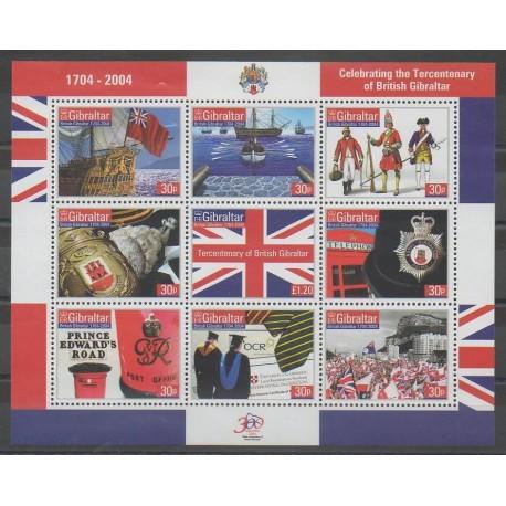 Gibraltar - 2004 - No 1070/1078 - Histoire