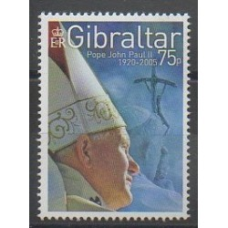 Gibraltar - 2005 - Nb 1139 - Pope