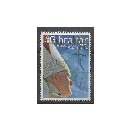 Gibraltar - 2005 - No 1139 - Papauté