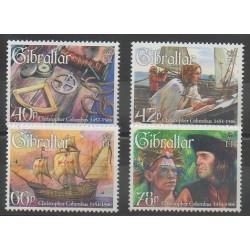 Gibraltar - 2006 - Nb 1183/1186 - Christophe Colomb