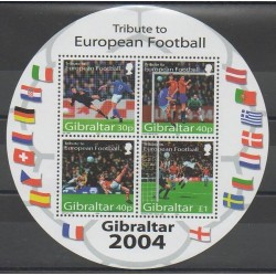 Gibraltar - 2004 - No BF51 - Football