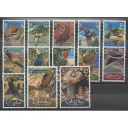 Gibraltar - 2008 - No 1247/1259 - Oiseaux