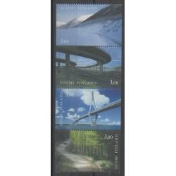 Finland - 1999 - Nb 1435/1438 - Bridges