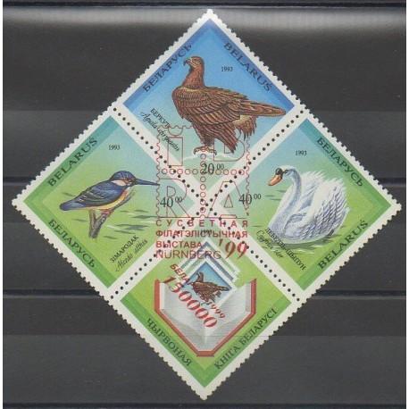 Biélorussie - 1999 - No 304 - Oiseaux