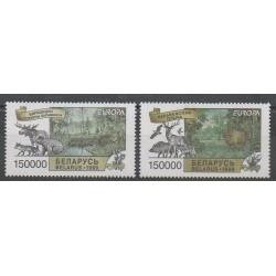Biélorussie - 1999 - No 287/288 - Mammifères - Europa