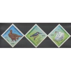 Biélorussie - 1994 - No 69/71 - Oiseaux