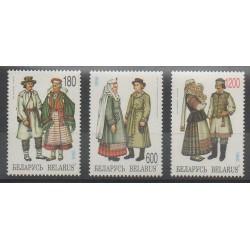 Biélorussie - 1995 - No 94/96 - Costumes Uniformes