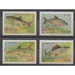 Biélorussie - 1997 - No 204/207 - Animaux marins