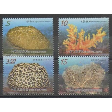 Formose (Taïwan) - 2016 - No 3784/3787 - Animaux marins