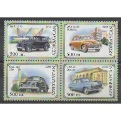 Azerbaijan - 2003 - Nb 469/472 - Cars
