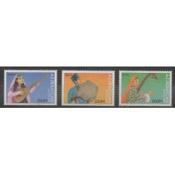 Azerbaïdjan - 1997 - No 352/354 - Musique