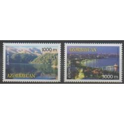 Azerbaijan - 2004 - Nb 489/490 - Sights - Europa