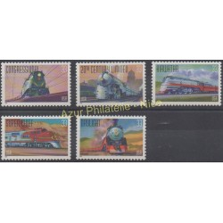 United States - 1999 - Nb 2926/2930 - Trains