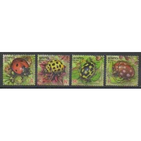 Biélorussie - 2015 - No 903/906 - Insectes