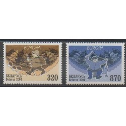 Biélorussie - 2004 - No 503/504 - Europa