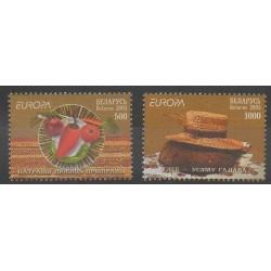 Biélorussie - 2005 - No 528/529 - Gastronomie - Europa