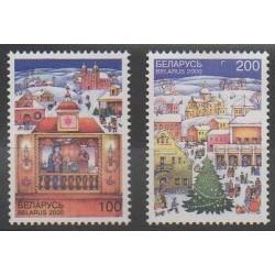 Biélorussie - 2000 - No 360/361 - Noël