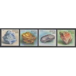 Biélorussie - 2000 - No 356/359 - Minéraux - Pierres précieuses
