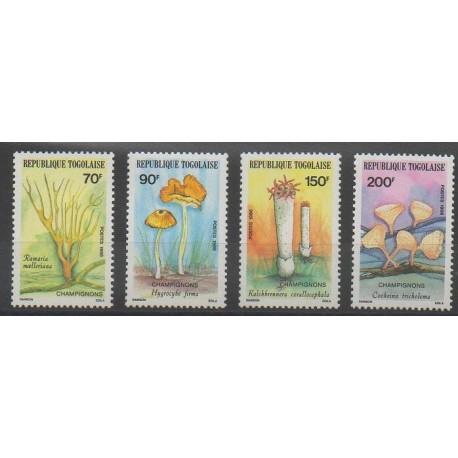 Togo - 1986 - No 1196/1199 - Champignons