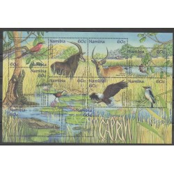 Namibie - 1998 - No 864/873 - Reptiles - Animaux