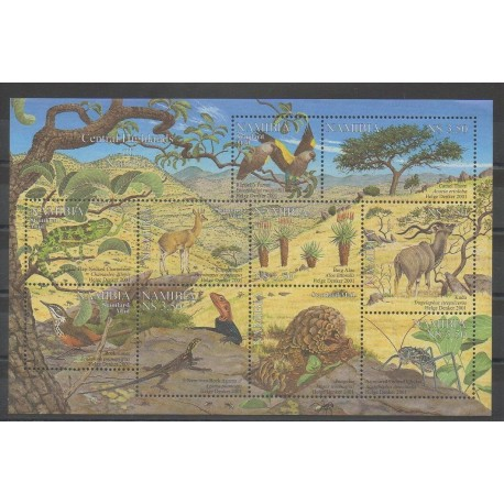 Namibie - 2001 - No 941/950 - Reptiles - Animaux