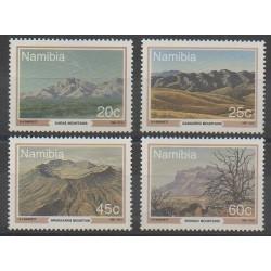Namibie - 1991 - No 663/666 - Sites