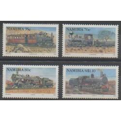 Namibie - 1994 - No 736/739 - Chemins de fer