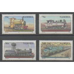 Namibie - 1995 - No 740/743 - Chemins de fer