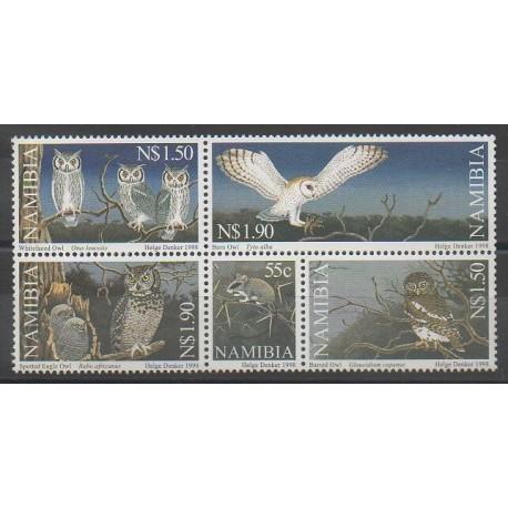Namibie - 1998 - No 851/855 - Oiseaux