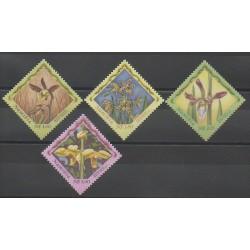 Namibie - 1999 - No 896/899 - Orchidées