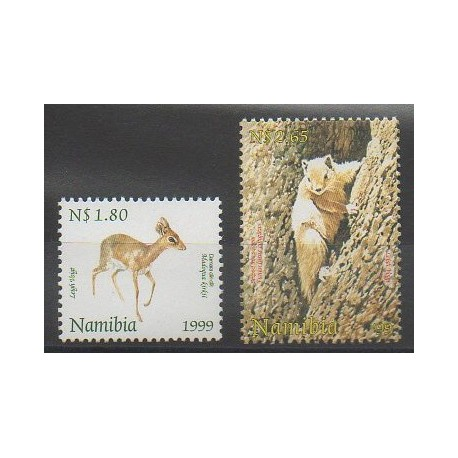 Namibie - 1999 - No 874/875 - Mammifères