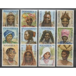 Namibie - 2002 - No 951/962 - Costumes Uniformes