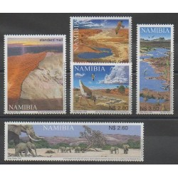 Namibie - 2002 - No 967/971 - Sites - Environnement