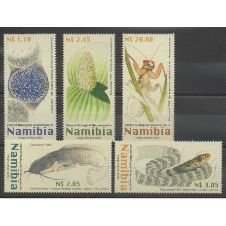 Namibie - 2003 - No 988/992 - Sciences et Techniques