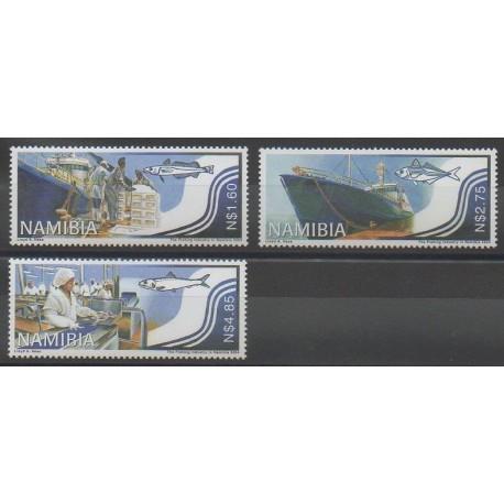 Namibie - 2004 - No 1017/1019 - Navigation