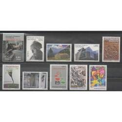 Andorre espagnol - Année complète - 2012 - No 377/386