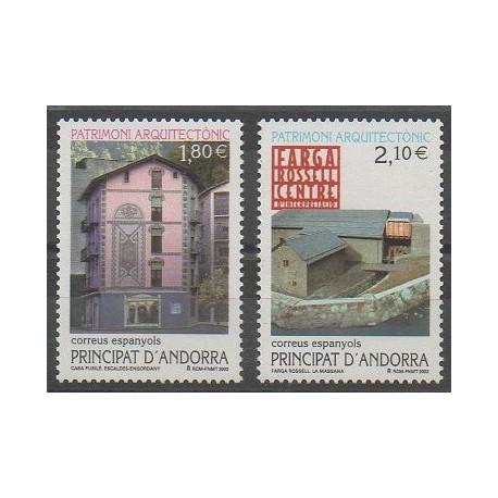 Andorre espagnol - 2002 - No 281/282 - Monuments