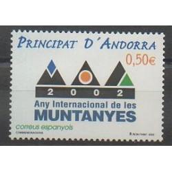 Spanish Andorra - 2002 - Nb 279