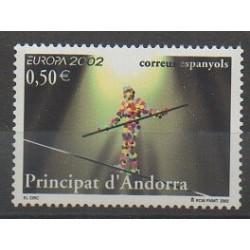 Spanish Andorra - 2002 - Nb 280 - Circus - Europa