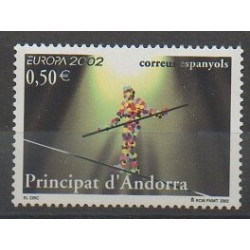 Andorre espagnol - 2002 - No 280 - Cirque - Europa