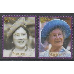 Nauru - 2002 - Nb 493/494 - Royalty