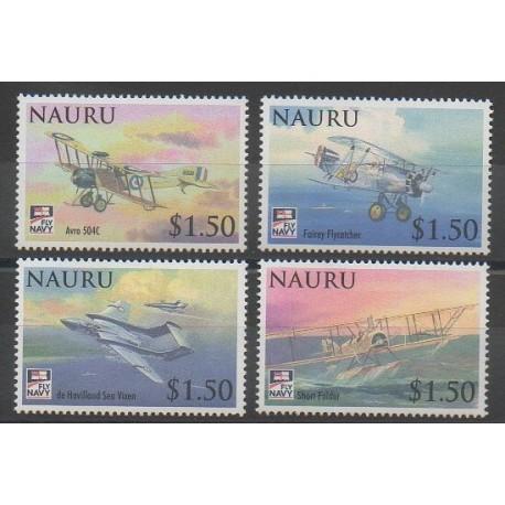 Nauru - 2009 - No 636/639 - Aviation