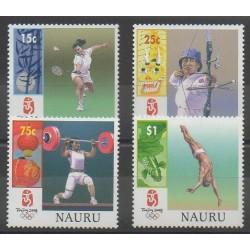 Nauru - 2008 - No 622/625 - Jeux Olympiques d'été