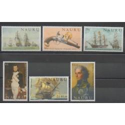 Nauru - 2005 - No 526/531 - Navigation - Histoire - Napoléon