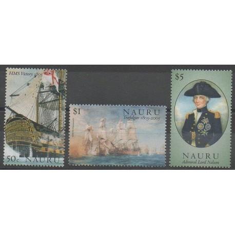 Nauru - 2005 - No 568/570 - Navigation - Histoire